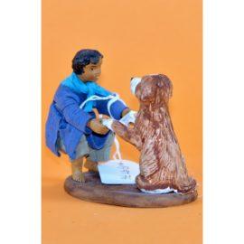 Fanciullo con cane