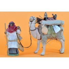 Cammelliere alzato con cammello